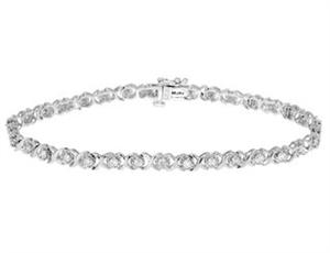 Bild von Diamond Tennis Bracelet